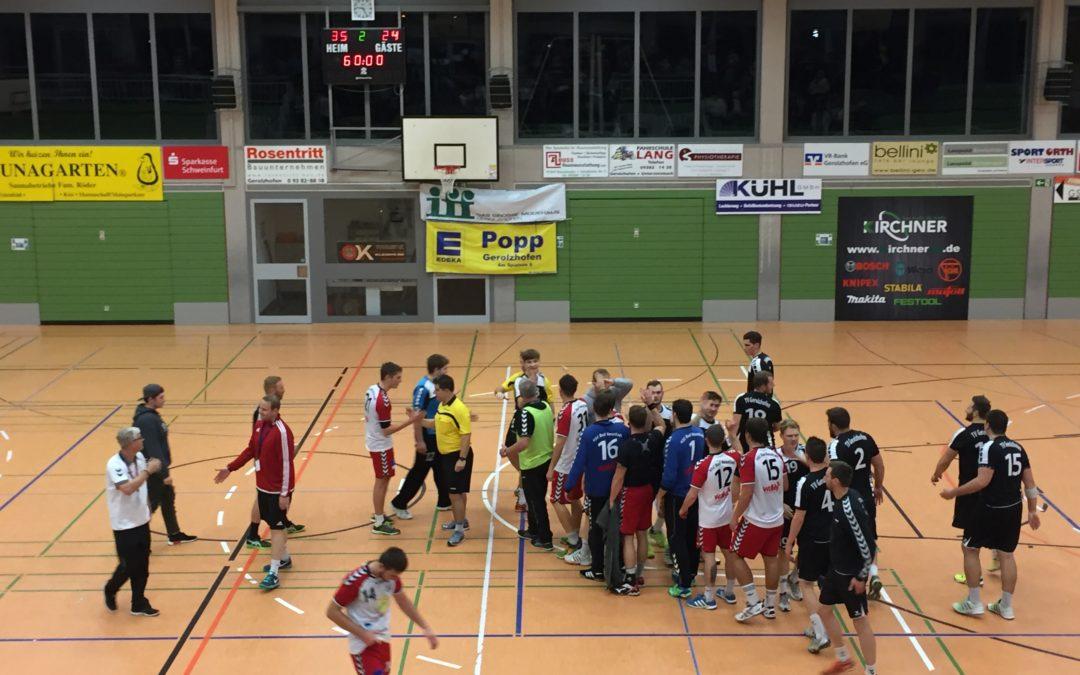 TVG holt weitere zwei Punkte gegen HSC Bad Neustadt II
