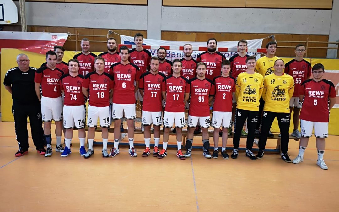 Neue Sponsoren der Herrenmannschaften des TVG Handball