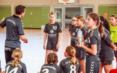 Derbysieg der weiblichen D-Jugend gegen die HSG